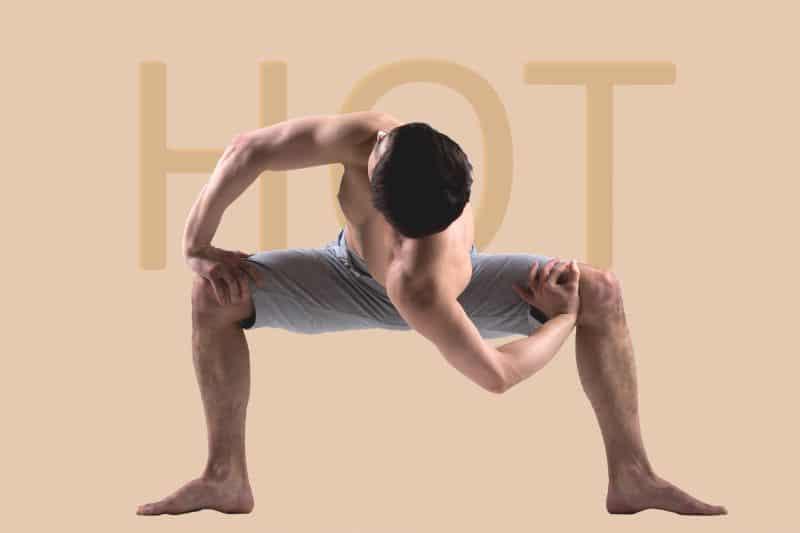 Hot Yoga 30-35 graden