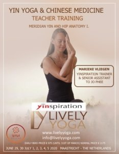 Yin Yoga Teacher Trainingen @Lively Yoga Maastricht
