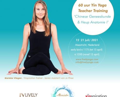 Yin Yoga & Chinese geneeskunde Marieke Vliegen