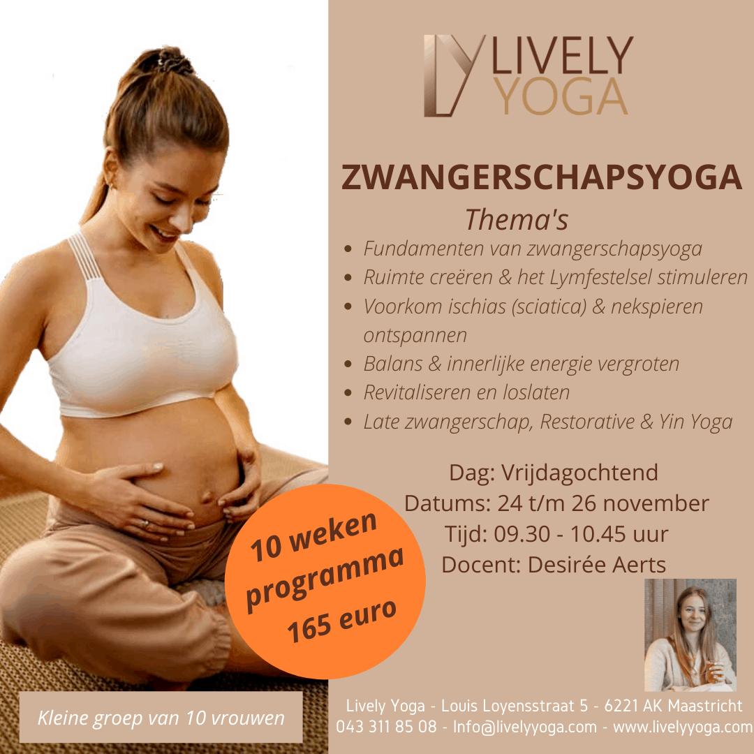 Zwangerschapsyoga Lively Yoga
