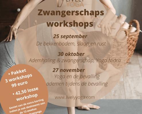 Zwangerschapsyoga workshop Lively Yoga